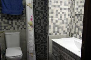 Baño principal del Apartamento Ruiseñor Abajo